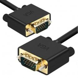 Solidny kabel VGA - VGA D-SUB FULL HD - 1080p 2 metry