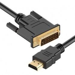 Kabel HDMI - DVI HDMI 1.4 4K 3D