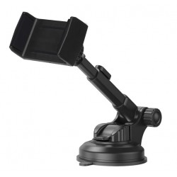 Uchwyt do telefonu zaciskany z ramieniem teleskopowym