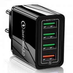 Szybka ładowarka sieciowa 4x USB Quick Charge 3.0