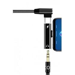 Przejściówka Type-C Type-C Jack adapter audio do telefonu