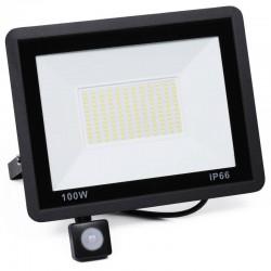 Naświetlacz LED 100W z czujnikiem ruchu i zmierzchu 9500...