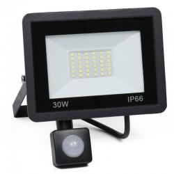 Naświetlacz LED 30W z czujnikiem ruchu i zmierzchu 3800...