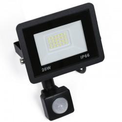 Naświetlacz LED 20W z czujnikiem ruchu i zmierzchu 1900...