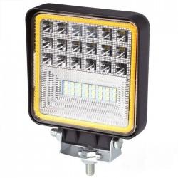 Lampa robocza 126W 42 diody CREE 3W 6300 LM DUAL COLOR