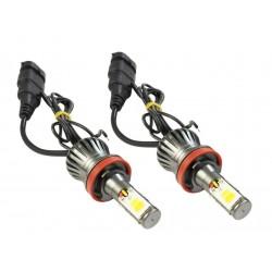 Zestaw żarówek LED COB H9 H11 DUAL COLOR JDM