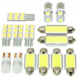 Zestaw żarówek LED do oświetlenia wnętrza BMW 3 E90 Sedan