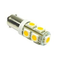 Żarówka samochodowa LED BA9S 9 SMD 5050 Biała ciepła